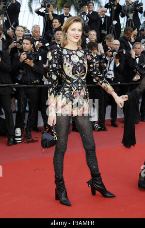 Eva Herzigova participant à la 'Rocketman' premiere pendant le 72e Festival du Film de Cannes au Palais des Festivals le 16 mai 2019 à Cannes, France | dans le monde entier Banque D'Images