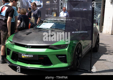 Berlin, Allemagne. 18 mai, 2019. Classic Car Days Berlin 2019 Credit: Beata Siewicz/Pacific Press/Alamy Live News Banque D'Images