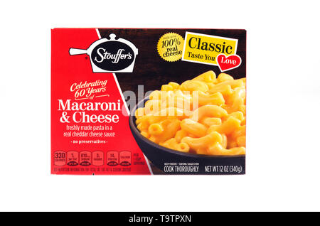 Stouffer's Classic Macaroni au fromage surgelés fort Banque D'Images