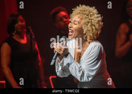 Londres, Royaume-Uni. 20 mai, 2019. Londres, Royaume-Uni. Lundi 20 mai 2019. Emeli Sandé performing 'Real Life' Album Showcase au Sadler's Wells Theatre, Crédit : Jason Richardson/Alamy Live News Banque D'Images