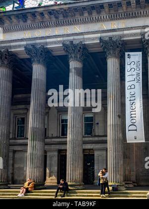 Musée d'Art Moderne de Glasgow, Ecosse Banque D'Images