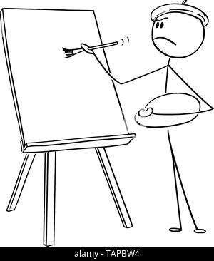 Palette Artiste Dessin Animé Vecteurs Et Illustration Image