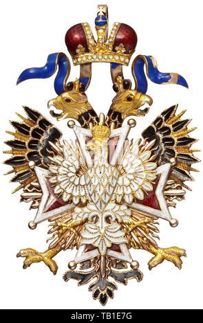 L Ordre Imperial Et Royal De L Aigle Blanc Une Decoration De L Ordre De 1868
