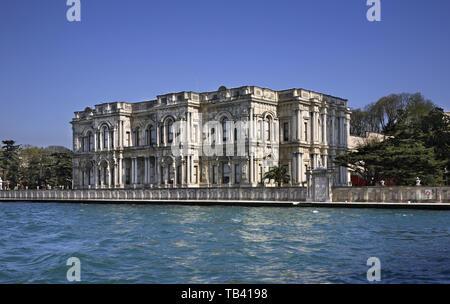 Palais Beylerbeyi à Istanbul. La Turquie Banque D'Images