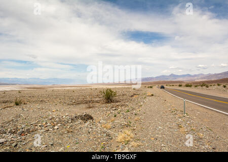 Paysage désertique de Death Valley National Park en Californie. USA
