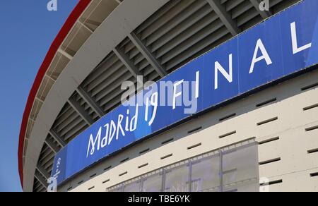 Madrid, Espagne. 01 Juin, 2019. Madrid, Espagne. 1er juin 2019. Allstar Crédit: photo library/Alamy Live News Banque D'Images