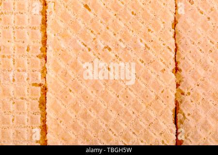 Gaufre texture pattern jaune Banque D'Images