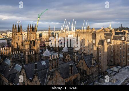 Les basses terres, Édimbourg, Écosse, Royaume-Uni.