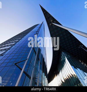 La Post Tower, siège de la compagnie logistique Deutsche Post DHL, Allemagne, Berlin, Bonn