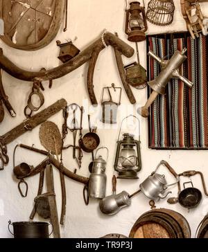 Travaux anciens objets du passé du sud de l'Espagne Banque D'Images
