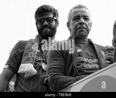 Liverpool Homecoming parade après gagner la ligue des champions de l'Ian crédit Fairbrother/Alamy Stock Photos Banque D'Images