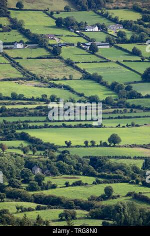 Les pays frontaliers de Slieve Gullion, Co Armagh, en Irlande du Nord Banque D'Images