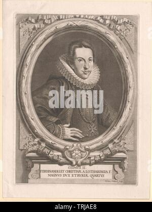 Cosme II de Médicis, Grand-duc de Toscane,-Additional-Rights Clearance-Info-Not-Available Banque D'Images