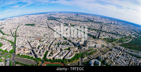 Antenne Panorama de Paris, France