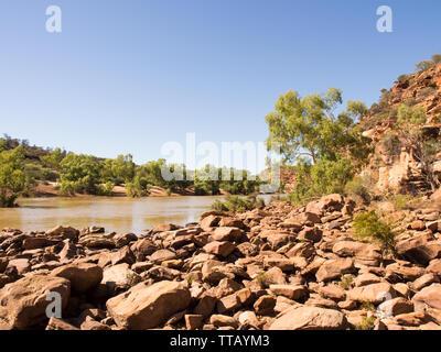 Murchison River, Ross Graham, le Parc National de Kalbarri, Australie occidentale Banque D'Images