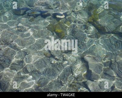 L'eau claire Banque D'Images