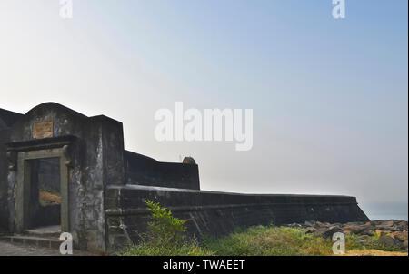 Castella de Aguada, également connu comme le Fort de Bandra, Kiosque, Mumbai, Maharashtra.