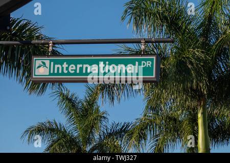 Orlando, Floride. 26 mai 2019 International Drive green sign at International Drive Area