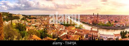 L'Italie, Vérone, paysage urbain Banque D'Images