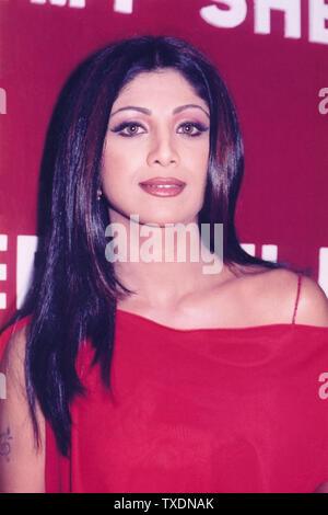 L'actrice indienne Shilpa Shetty film de Bollywood, l'Inde, l'Asie Banque D'Images
