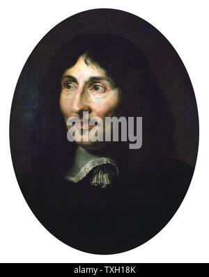 Attribué à Claude Lefèbvre (1632-1675) École française (1632-1675) Portrait de Jean-Baptiste Colbert (1619-1683) 17e siècle, musée Beaux-arts de Pau Banque D'Images