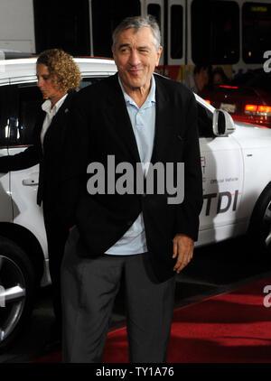 """Robert De Niro, un acteur dans la motion picture comédie dramatique """"Everybody's Fine"""", assiste à la première du film Festival de 2009 à Los Angeles le 3 novembre 2009. UPI/Jim Ruymen Banque D'Images"""