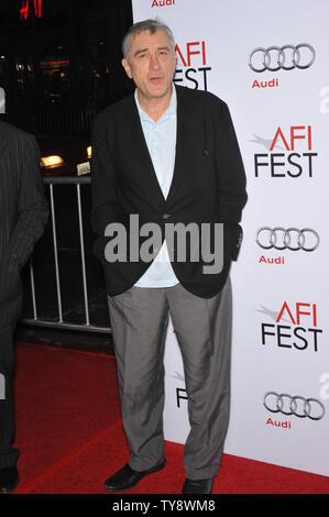 LOS ANGELES, CA. 03 novembre 2009: Robert De Niro lors de la première mondiale de son nouveau film 'Everybody's Fine' - cadre de l'AFI Fest 2009 - Au Grauman's Chinese Theatre, à Hollywood. © 2009 Paul Smith / Featureflash Banque D'Images
