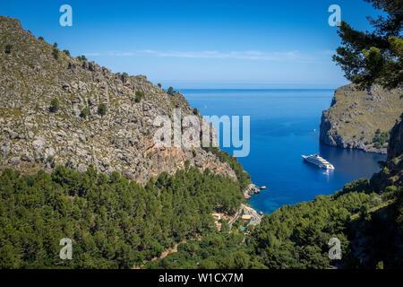 Paysage spectaculaire Sa Calobra sur Mallorca Banque D'Images