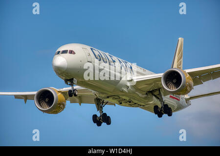 A9C-FA Gulf Air Boeing 787-9 Dreamliner Banque D'Images