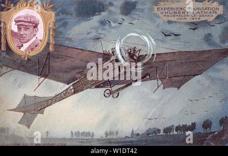 HUBERT LATHAM (1883-1912) Pionnier de l'aviation française