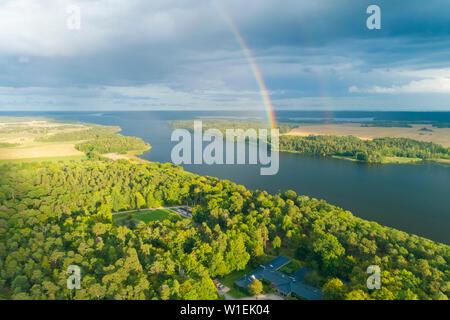 Près du lac Malaren Wik Château, dans Comté d'Uppsala, Suède, Scandinavie, Europe Banque D'Images