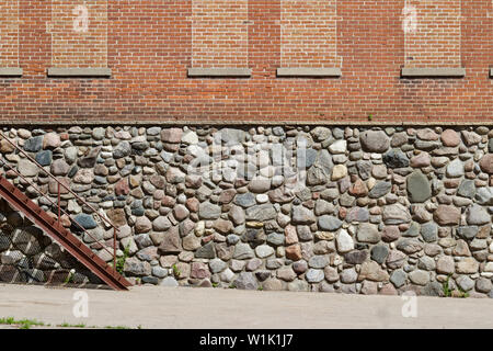 Natural stone rock wall abstract background Banque D'Images