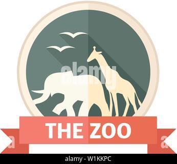 Gate Zoo en télévision couleur. Parc animalier Safari Banque D'Images