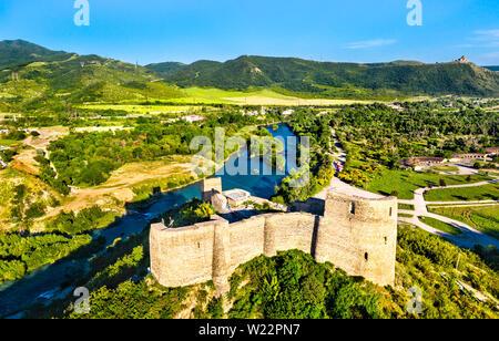 Bebris Tsikhe forteresse près de Mtskheta en Géorgie