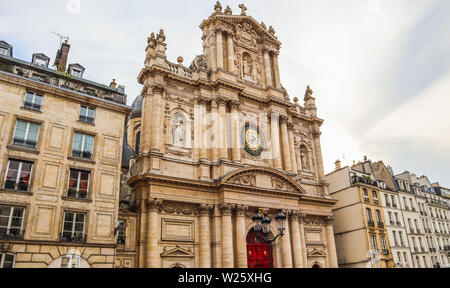 Église de Saint-Paul-Saint-Louis à Paris, France Banque D'Images