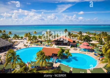 Cuba, Holguín, Playa, Guardalvaca hôtel Brisas Guardalavaca Banque D'Images