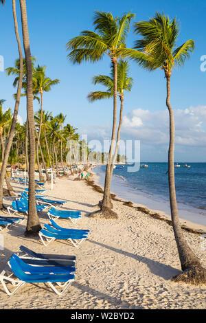 République dominicaine, Punta Cana, Playa Cabeza de Toro Banque D'Images