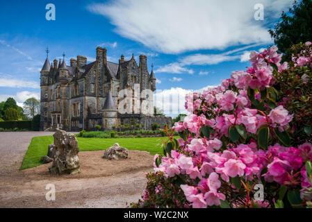 L'Irlande, dans le comté de Cork, Blarney, Blarney Castle et ses jardins, la maison de Blarney Banque D'Images