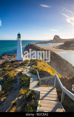 Phare à Delémont, Wairarapa, île du Nord, Nouvelle-Zélande Banque D'Images
