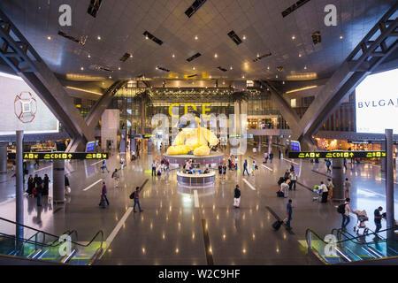 Qatar, Doha, Doha-Hamad Aéroport International, ouvert depuis 2014, des boutiques duty-free area