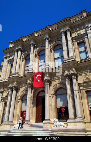 Palais Beylerbeyi, Beylerbeyi, Istanbul, Turquie Banque D'Images