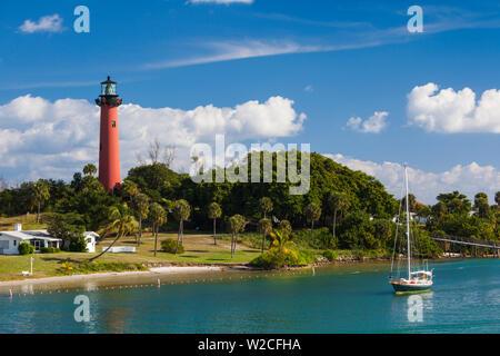 USA, Floride, Jupiter, Jupiter Inlet Lighthouse Banque D'Images