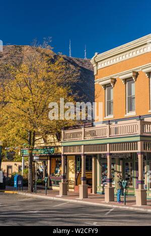 USA, Colorado, Durango, principale Avenue Banque D'Images
