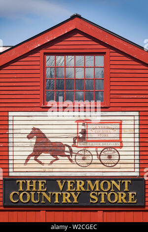 USA, Weston, le Vermont Country Store