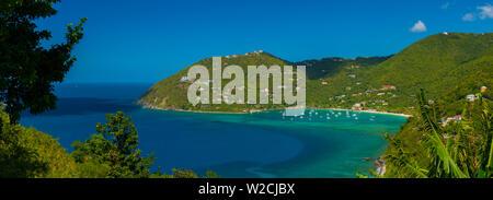 Caraïbes, îles Vierges britanniques, Tortola, Cane Garden Bay Banque D'Images