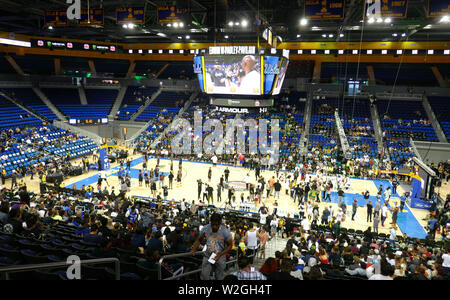 Los Angeles, Californie, USA 8 Juillet 2019 Une vue générale de l'atmosphère à la deuxième édition de la Monster Energy 50K Celebrity DÉFI CARITATIF match de basket-ball le 8 juillet 2019 à l'UCLA Pauley Pavilion à Los Angeles, Californie, USA. Photo de Barry King/Alamy Live News Banque D'Images