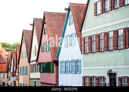 Feuchtwangen, Allemagne Banque D'Images