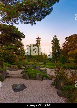 Paysage japonais, Kew Gardens, London, UK