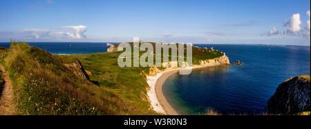 Camaret-sur-Mer. La baie de Pen-Hat , île de Crozon, Finistère, Bretagne, France ministère Banque D'Images
