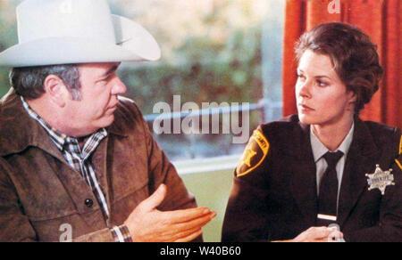 Espèces menacées 1982 MGM film avec JoBeth Williams et Hoyt Axton Banque D'Images